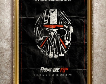 Friday the 13th 27x40 (Theatrical Size) Movie Poster