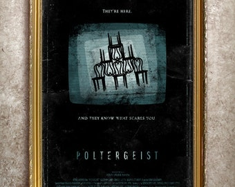 Poltergeist 27x40 (Theatrical Size) Movie Poster