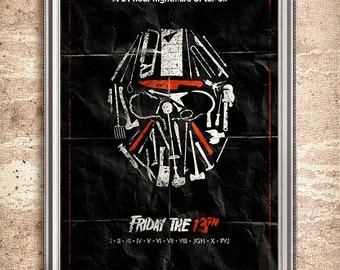 Friday the 13th 24x36 Movie Poster