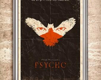 Psycho 24x36 Movie Poster