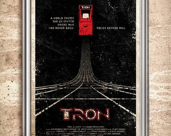 TRON 24x36 Movie Poster