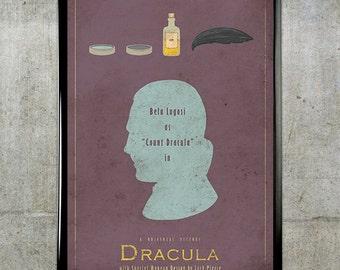 Dracula - Universal Monsters Series - 11x17 Movie Poster