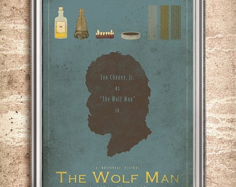 The Wolf Man - Universal Monsters Series - 24x36 Movie Poster