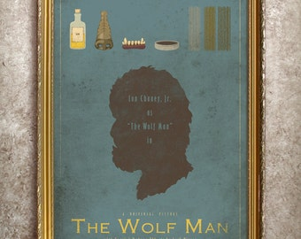 The Wolf Man - Universal Monsters Series - 27x40 (Theatrical Size) Movie Poster