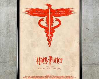 Harry Potter and the Chamber of Secrets 11x17 Movie Poster