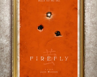 Firefly 27x40 (Theatrical Size) Poster