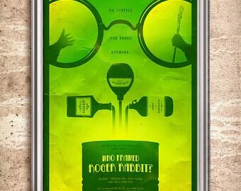 Who Framed Roger Rabbit 24x36 Movie Poster