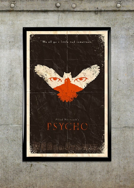 Psycho 11x17 Movie Poster