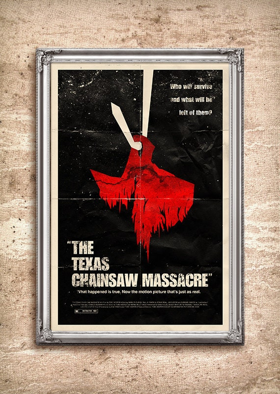 The Texas Chainsaw Massacre 24x36 Movie Poster