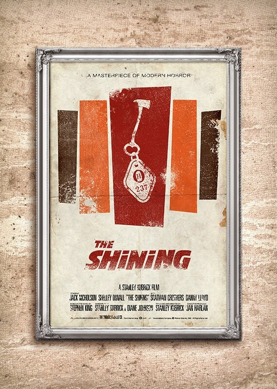 The Shining 24x36 Movie Poster