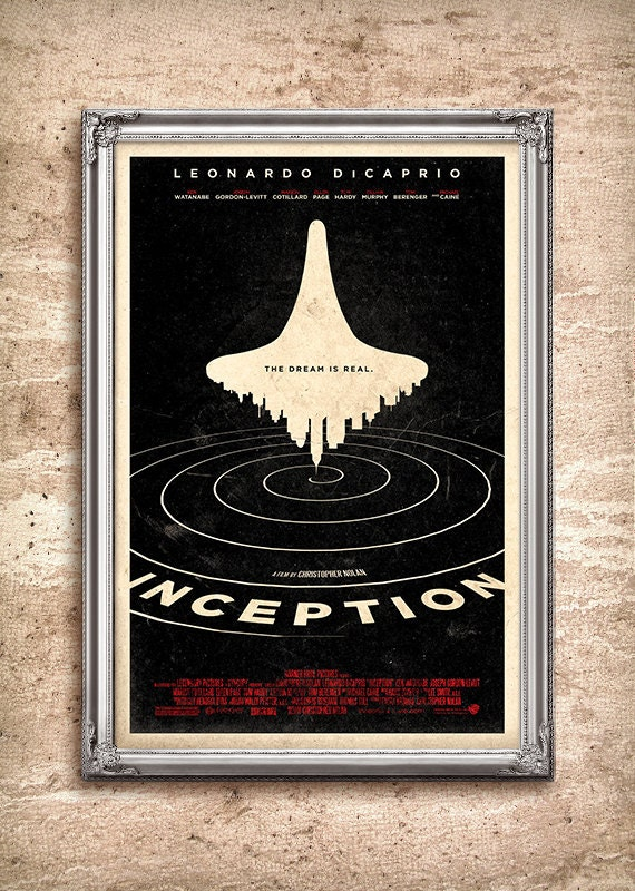Inception 24x36 Movie Poster