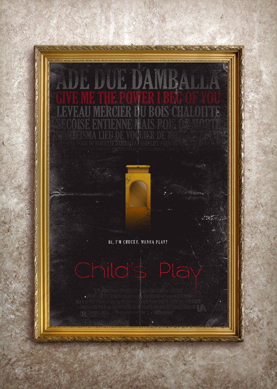 Child's Play 27x40 (Theatrical Size) Movie Poster