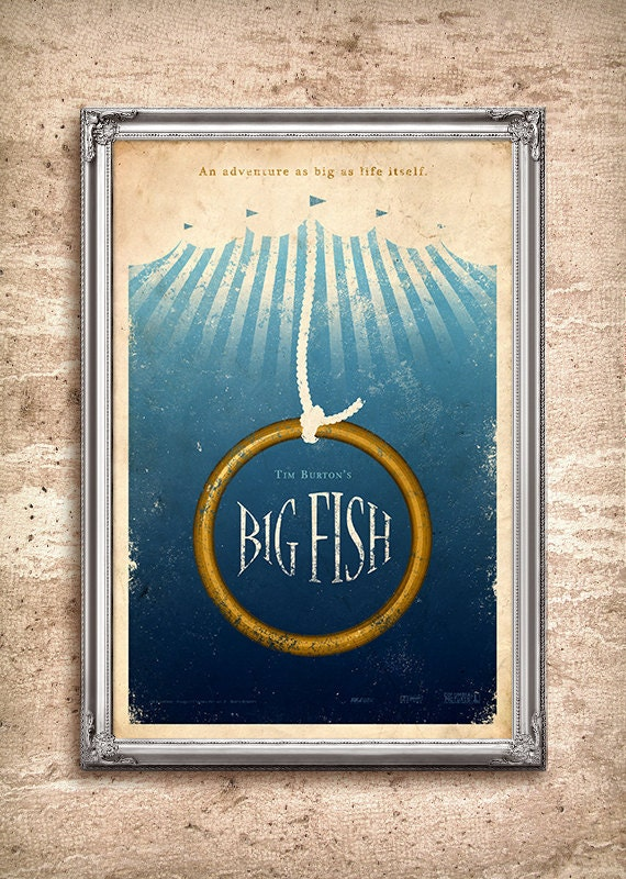 Big Fish 24x36 Movie Poster