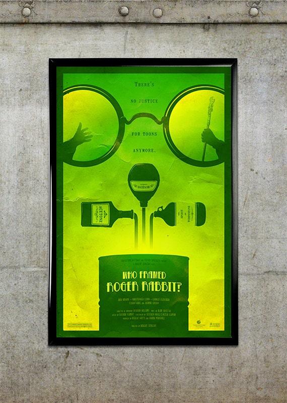 Who Framed Roger Rabbit 11x17 Movie Poster