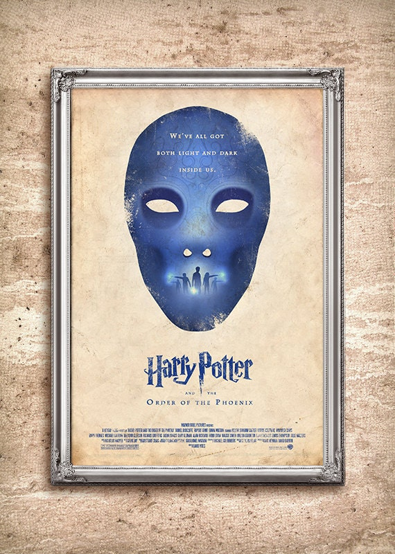 Harry Potter and the Order of the Phoenix 24x36 Movie Poster