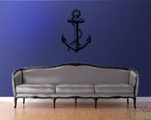 Anchor - vinyl wall decal sticker - large