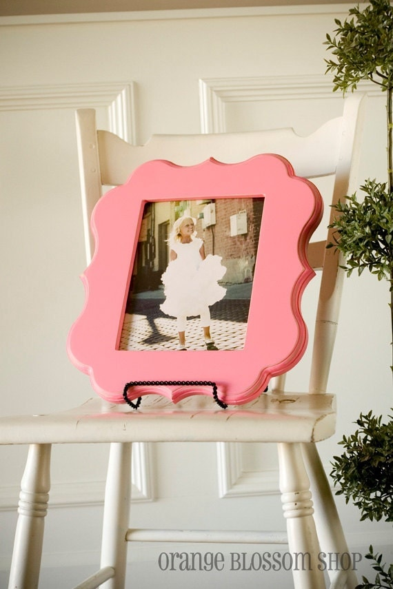 """16x16 whimsical and unique picture frame in the """"ALY"""" style only"""