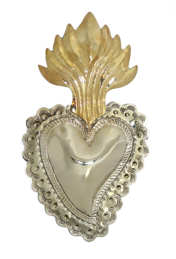 Decorative Flaming Heart- Sacred Heart