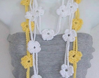 Double Flower Lariat Pattern PDF  Instant Download