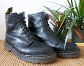 Vintage Black 8 Hole Dr Marten's Boots