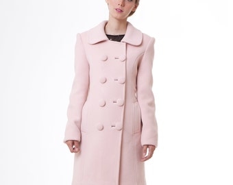 BLACK SWAN Rose Cashmere wool winter LUXE edition Natalie Portman's Pink Coat Nina Sayers S M custom