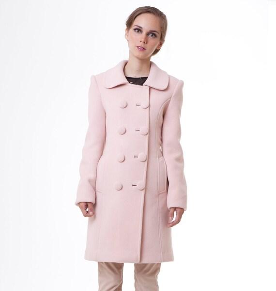 BLACK SWAN Rose Cashmere wool winter LUXE edition Natalie Portman's Pink Coat Nina Sayers S M custom