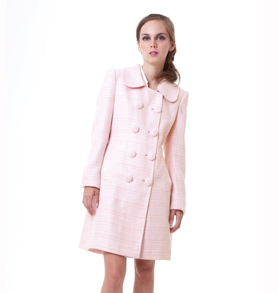 NEW BLACK SWAN Natalie Portman's Pink Coat Nina Sayers S M L custom