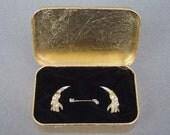 Animal Bones Gold Leaf in Golden box - Corpus Delicti series