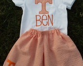 University of Tennessee Vols Boys Monogrammed Set (Shirt & Shorts)