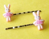 Sweet Little Bunny Bobby Pins