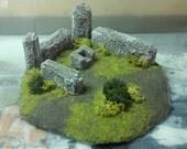 Fantasy Gaming Terrain - Ruined Woodland Throne