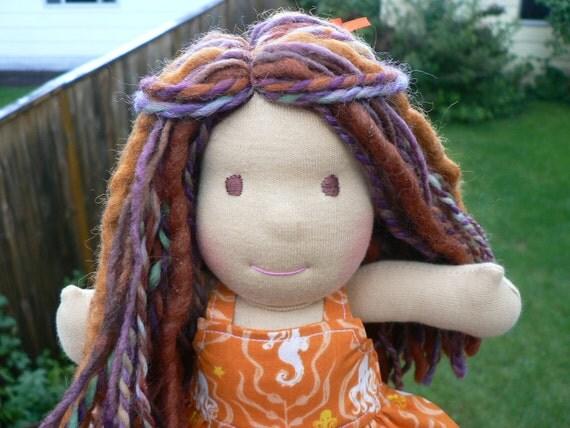 SALE - Autumn - 9 Inch Waldorf Doll