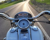 Taking A Sweet Ride Down The Road of Life on My Harley Davidson Motorcycle.  8x10 Other sizes available on request.