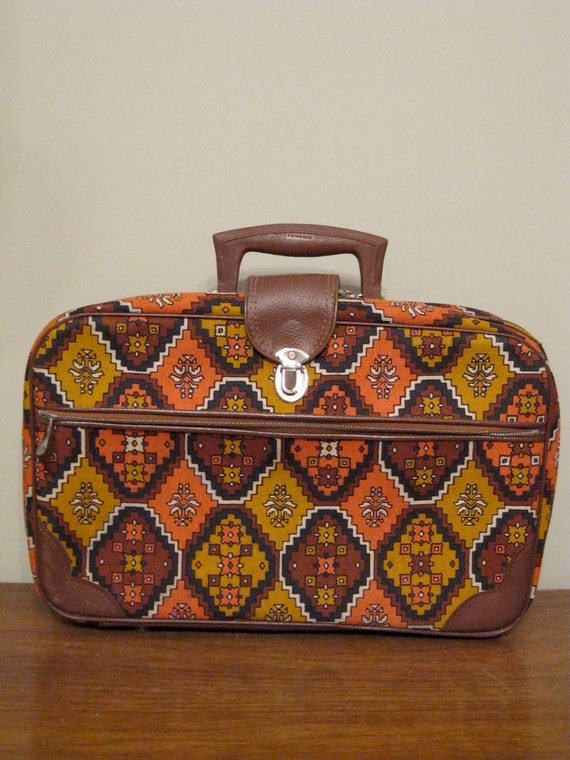 60s Magical Mystery Tour Suitcase