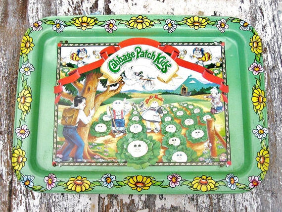 Cabbage Patch Kids Lap Tray Vintage 1980s
