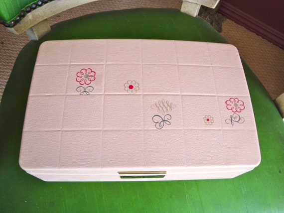 Vintage Jewelry box fit for a Queen by Farrington