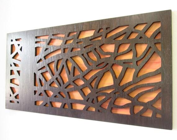 Modern Rustic Wall Decor: Items Similar To Modern Wall Art, Rustic Wall Art, Tree