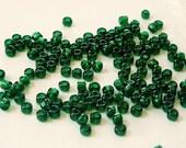 Matsuno Dark Green 8/0 Seed Beads