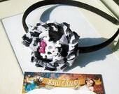 Cutie Skull Headband Handmade