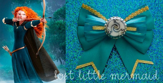 "Merida Sparkling Bow - ""I am Merida. And I'll be shooting for my own hand."""