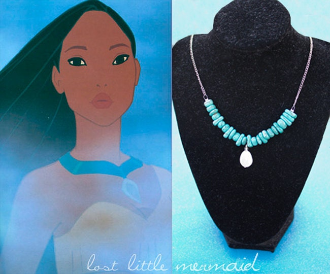Mini Pocahontas Inspired Necklace What's Around