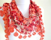 Necklace scarves,Headband,Traditional Turkish-style,scarf, gift, winter trends, fashion, 2012, Special Fashion, spring celebration