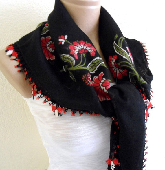 authentic, square , scarf, Black, wedding, bride, 2012 Spring Fashion, Traditional Turkish-style