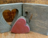 My Missing Piece - Rustic Desk Decor - Just Because I Love You Puzzle Piece