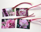 Orchid-Purple Flower Premium Photo Gift Tags