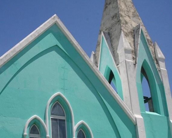 Bermuda Aqua Blue Church