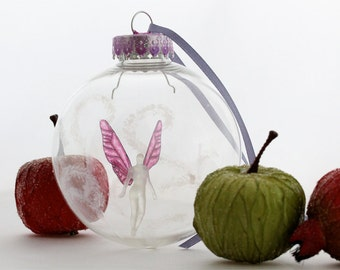 Faerie Holiday or Christmas Ornament - Sugar Plum Fairy