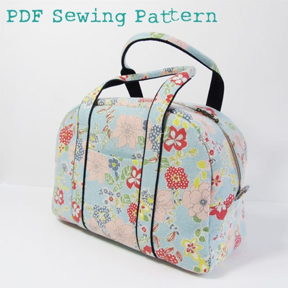 PDF Sewing Pattern -Boston Bag and Satchel-
