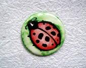 """Ladybug - 2.25"""" Round Pocket Mirror"""