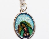 Necklace: Our Lady of Guadalupe Good Luck Charm